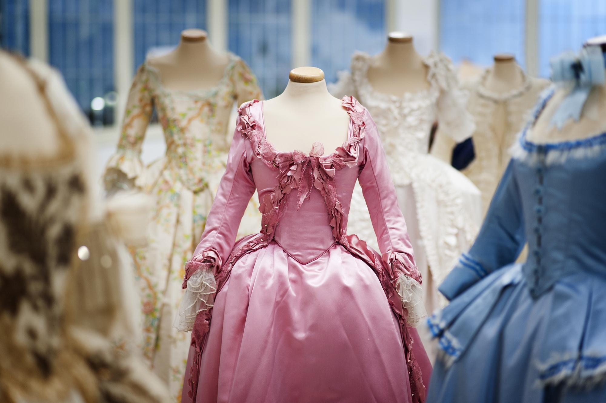 I costumi di Marie Antoniette. A Prato