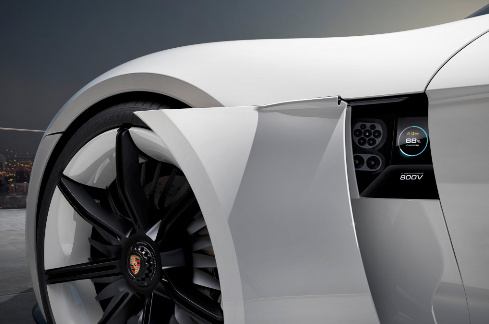L'elettrica di Porsche
