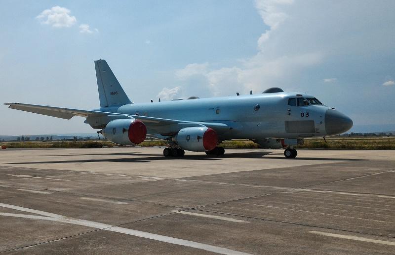 Il P-1 della Japan Maritime. A Sigonella