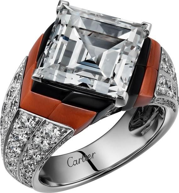 Il Diamante in Diagonale di Cartier
