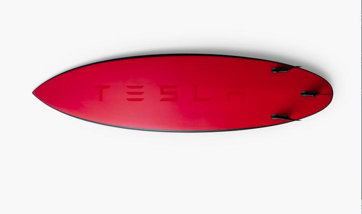 Le Tavole da Surf di Tesla