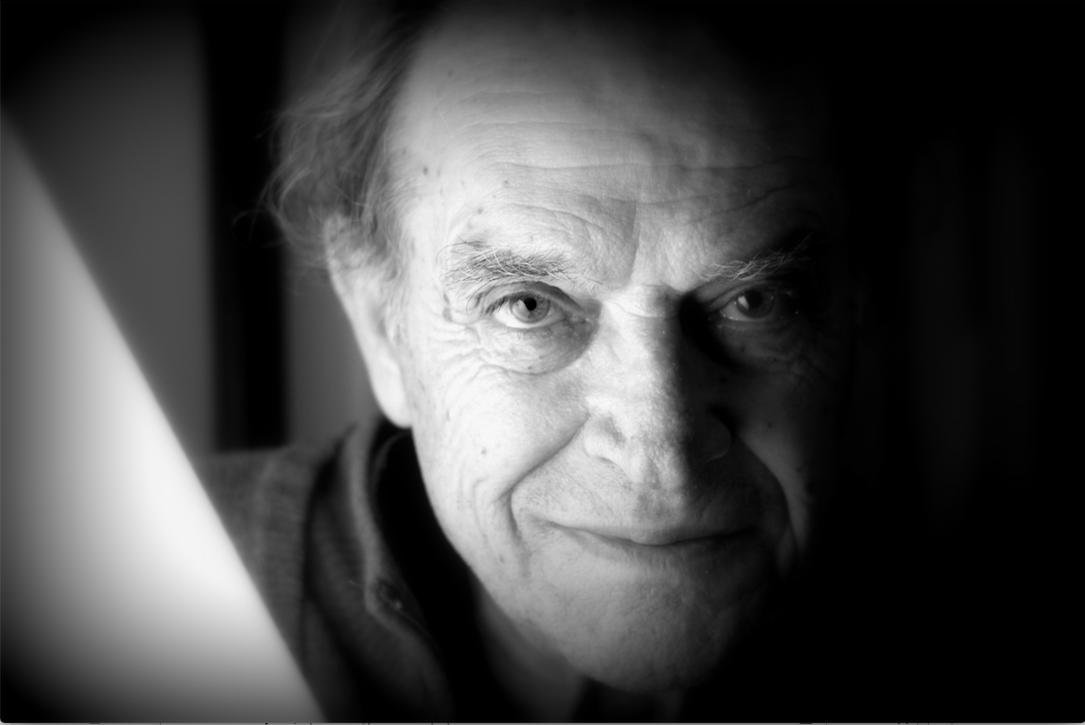 Piero Guccione. In un'immagine di Carmelo Nicosia