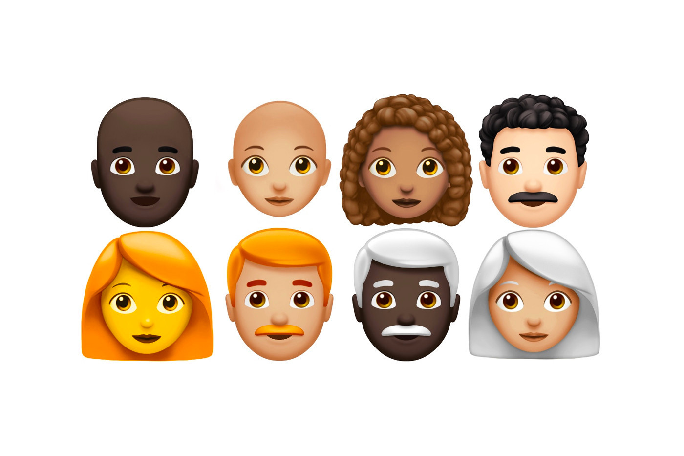 70 Nuovi Emoticon per iOS 12.1 di Apple