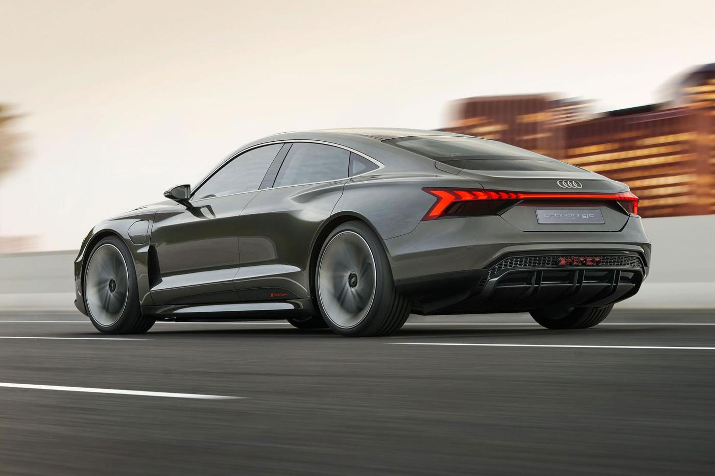 Interni Vegani per l' Elettrica di Audi