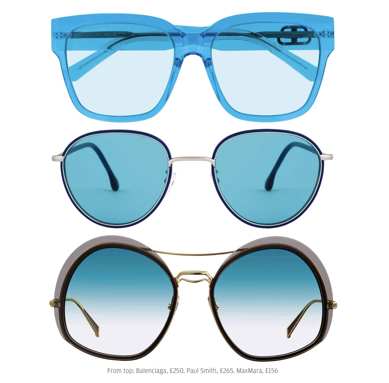 Ancora occhiali da sole. Questa volta per stupire