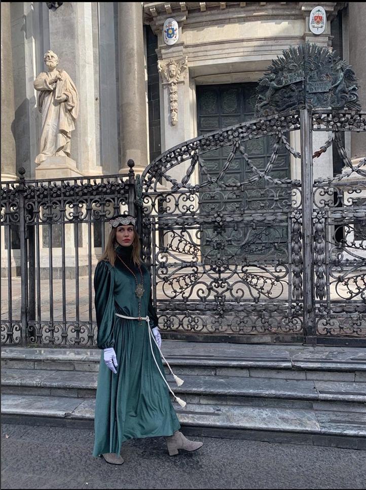 Il Sacco Verde di Mariella. Per Sant'Agata a Catania